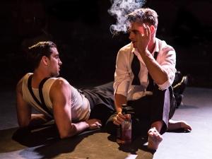 Alexander Hulme as Jackson and David Butler as Patrick