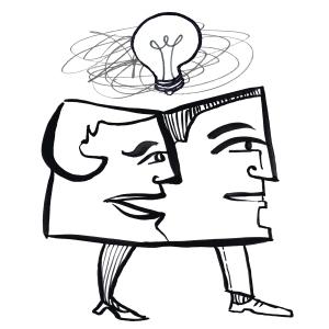 LGBTQ two brains